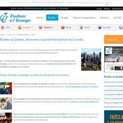 Étudier au Québec : comment étudier au Québec ?