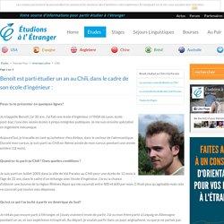 Étudier au Chili : témoignage Benoît