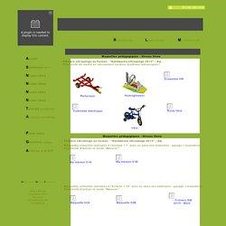 BaseCalque Tous les objets 3D étudiés en technologie au format eDrawings