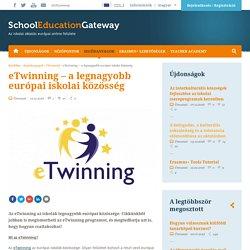 eTwinning – a legnagyobb európai iskolai közösség