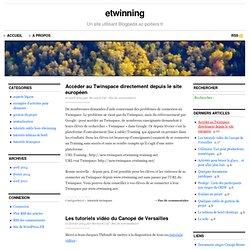 etwinning sur Blogpeda.ac-poitiers.fr
