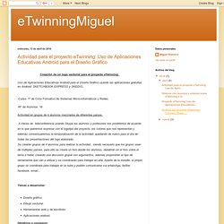 eTwinningMiguel: abril 2016