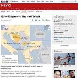 EU enlargement: The next seven