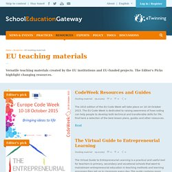 EU teaching materials