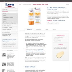 SUN LEB Protection 50 - Texture gel crème