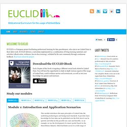 EUCLID | EdUcational Curriculum for the usage of LInked Data