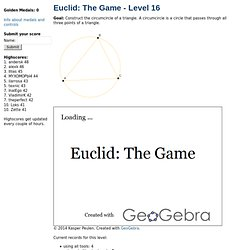 Euclid: The Game - Level 16