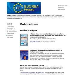 EUCRÉA FRANCE - Publications