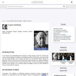Eugène Ionesco et La Cantatrice chauve
