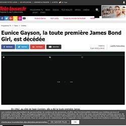 Eunice Gayson, la toute première James Bond Girl, est décédée