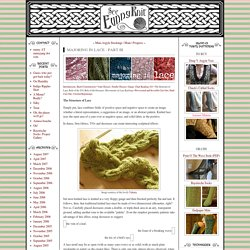 See Eunny Knit!: Majoring in Lace - Part III