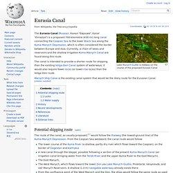 Eurasia Canal