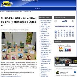 EURE-ET-LOIR - 6e édition du prix « Histoires d'Ados »