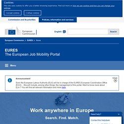The European job mobility portal