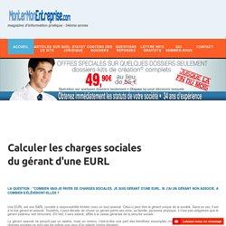 EURL. Calculer ses charges sociales