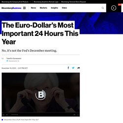 The Euro-Dollar's Most Important 24 Hours This Year