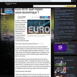 Euro-2016: quel impact socio-économique ?