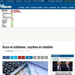 Euro et inflation : mythes et réalités