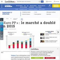 « Euro PP »: le marché a doublé en 2015, Crédits