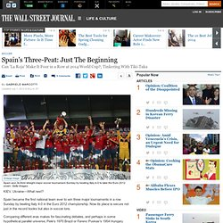 Euro 2012: Spain's Three-Peat: Just The Beginning