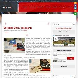 Eurobike 2015, c'est parti - Matos vélo, actualités vélo de route et tests de matériel cyclisme