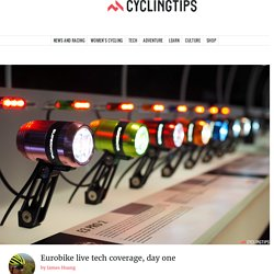 Eurobike live tech coverage, day one