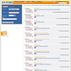 Eurodyssee.net: Offres de stage
