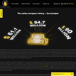 Online European Lottery - EuroJackpot