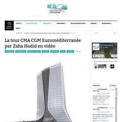 Image de la tour de la CMA CGM