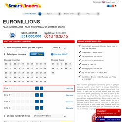 Play EuroMillions - Play the official UK lottery online