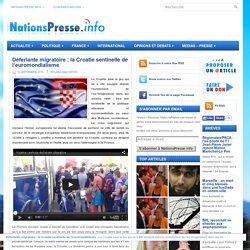 La Croatie sentinelle de l'euromondialisme