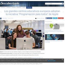 Europa adopta la Programación para todos de Apple.