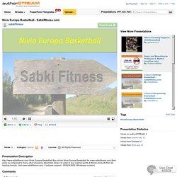 Nivia Europa Basketball - Sabkifitness.Com