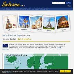 Europa: Capitali - Quiz Geografico