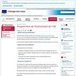 Fonds de l'UE pour les PME - L'Europe est à vous