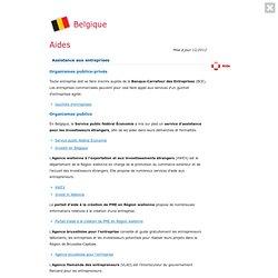 Aides - L'Europe est à vous - Entreprises