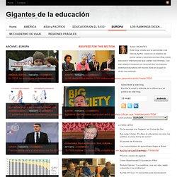 GIGANTES DE LA EDUCACIÓN
