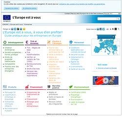 L'Europe est à vous - Entreprises - EUROPA