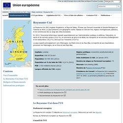 Les pays européens - Royaume‑Uni