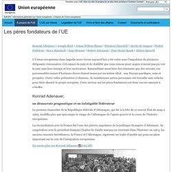 EUROPA - Les pères fondateurs de l'UE