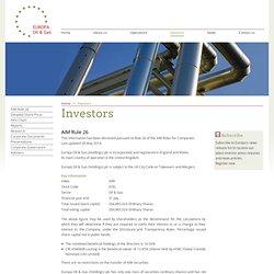 Europa Oil & Gas - Investors