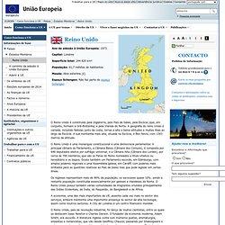 Países europeus - Reino Unido