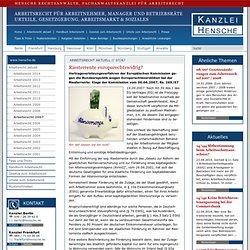 07/47 Riesterrente europarechtswidrig? - Hensche Rechtsanwälte