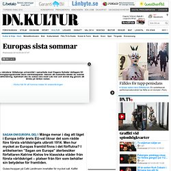Europas sista sommar