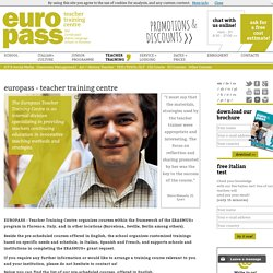 EUROPASS - Teacher Training Centre
