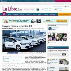 Europcar démarre la mobilité 2.0