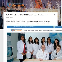 Study MBBS in Europe - Direct MBBS Admission for Indian Students