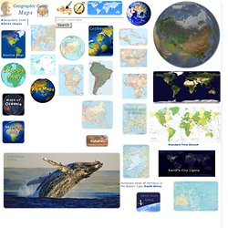 World Maps - Europe, Asia, America, Africa, Oceania