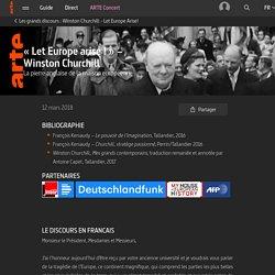« Let Europe arise ! » – Winston Churchill