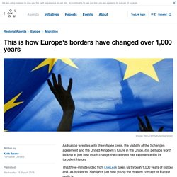 *****This is how Europe's borders have changed over 1,000 years